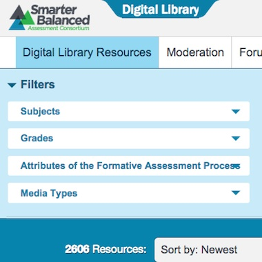 Smarter Balanced Digital Library (Amplify Education)